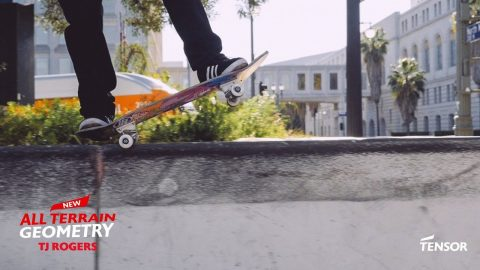 TJ Rogers | New Tensor All Terrain Geometry Trucks - Tensor Trucks