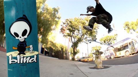 Tj Rogers - OG Reaper Series | Blind Skateboards | Blind Skateboards
