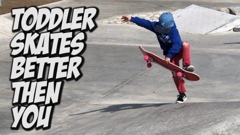 TODDLER AND FRIENDS SKATE BETTER THEN YOU !!! - NKA VIDS - - Nka Vids Skateboarding