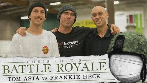 Tom Asta & Frankie Heck - Battle Royale | The Berrics