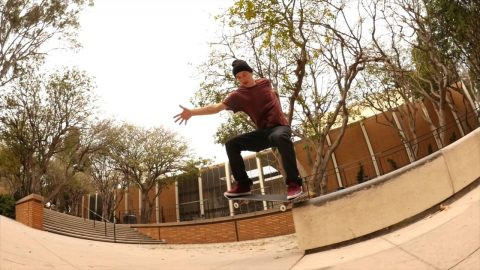 Tom Asta Takes a Cruise Around Campus - Bryce Pagter