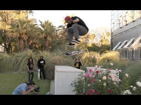 Tom Rohrer Varial Heel Flip School Gap Raw Uncut - E. Clavel