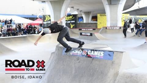 Tom Schaar qualifies first | Road to X Games Boise Qualifier - X Games