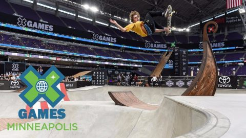 Tom Schaar wins Skateboard Park silver | X Games Minneapolis 2017 - X Games