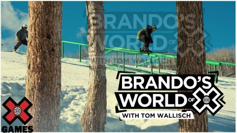 TOM WALLISCH: Brando's World of X | X Games | X Games