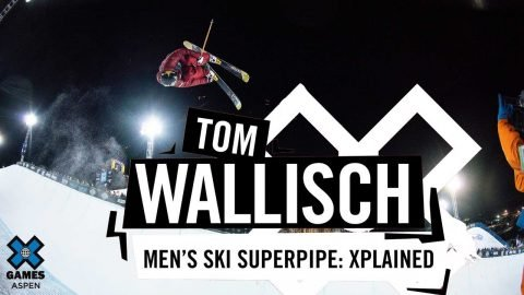 TOM WALLISCH: X Games Xplained - Ski SuperPipe | X Games | X Games