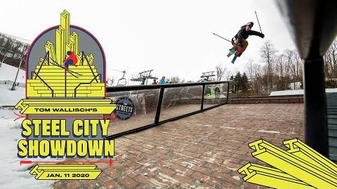 "Tom Wallisch's ""Steel City Showdown"" Qualifying Round 