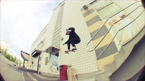Tommi Björk in Happy Hour's 'DAA' | Freeskatemag