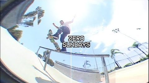Tommy Sandoval City Heights Skatepark | Zero Sundays - ep 9 | Zero Skateboards