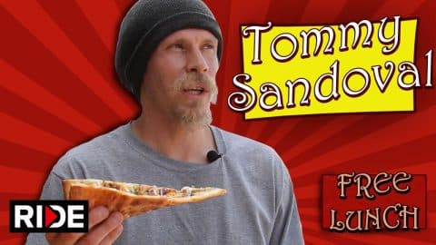 Tommy Sandoval Talks About FS Flipping the UC Davis Gap & More - Free Lunch - RIDE Channel