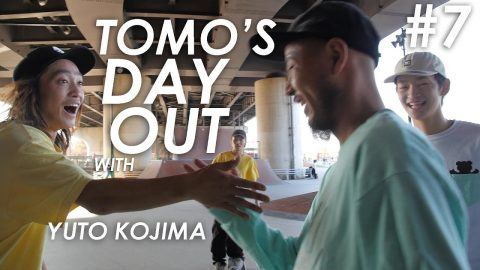 Tomo's Day Out #7 - Yuto Kojima and friends - tomothehomeless