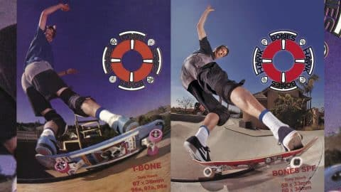 Tony Hawk - Behind the Scenes: BONES WHEELS AD - BONES WHEELS