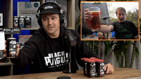 Tony Hawk Has His Own Beer! - Black Plague | The Nine Club Highlights