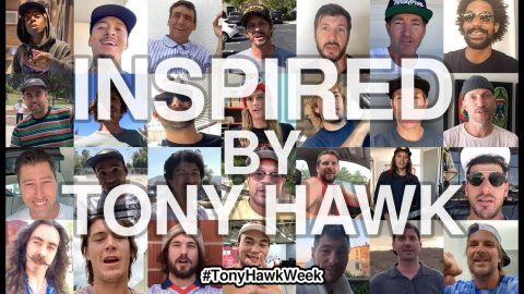 Tony Hawk Inspires World's Most Legendary Skateboarders | The Berrics