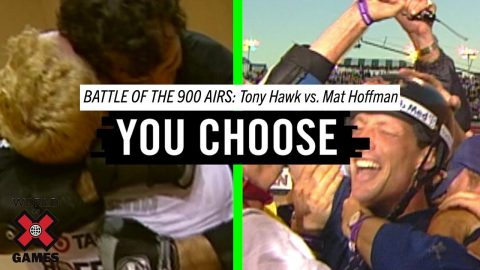Tony Hawk Vs. Mat Hoffman: Battle of the 900 Airs | X Games | X Games