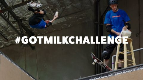 Tony Hawk's Got Milk Challenge - 540 on a Skateboard | RIDE Channel