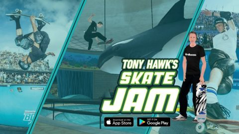 Tony Hawk's Skate Jam - Official Trailer (Tony Hawk Mobile Skateboard Game) | RIDE Channel