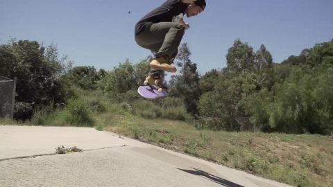 Tony Tave Grizzly commercial in the new Wild West t-shirt | Grizzly Griptape