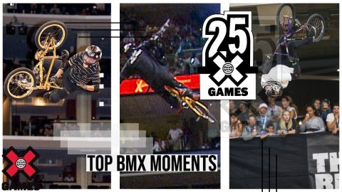TOP BMX MOMENTS: 25 Years of X | World of X Games | X Games