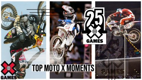 TOP MOTO X MOMENTS: 25 Years of X | World of X Games | X Games