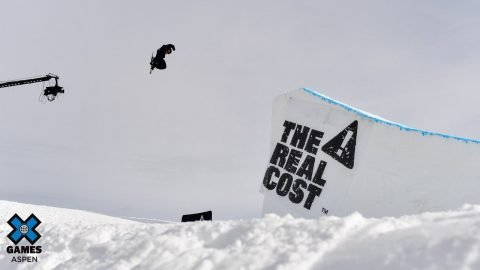 TOP QUALIFIER: The Real Cost Men's Snowboard Big Air Elimination | X Games Aspen 2020 | X Games