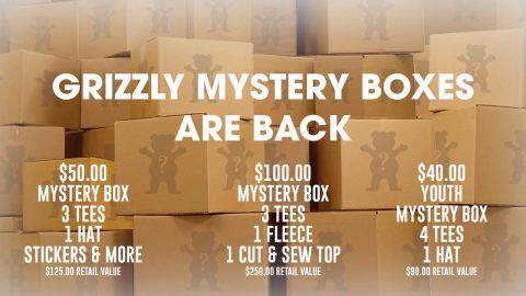 Torey Mystery Box's | Grizzly Griptape