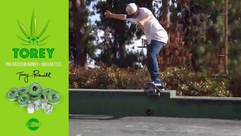 "Torey Pudwill Andalé Pro Rated Bearings ""fastest bearings alive"" 