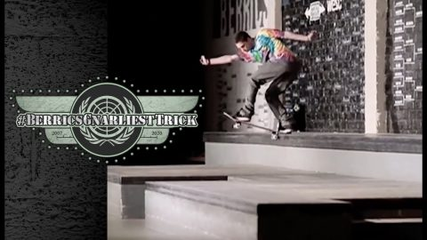 Torey Pudwill's Legendary Backside Tailslide | Berrics Gnarliest Trick | The Berrics
