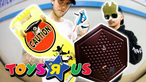 TOYS R US SKATE EVERYTHING WARS | EP 7 - Braille Skateboarding