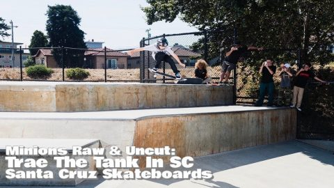 Trae Montgomery Hucks INSANE Ollie At Mike Fox Park! SC Minions: Raw & Uncut | Santa Cruz Saturdays | Santa Cruz Skateboards