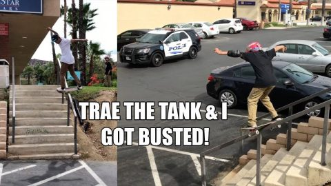 TRAE THE TANK & I GOT BUSTED!!! | Vinh Banh