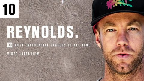 TransWorld SKATEboarding talks with Andrew Reynolds, Number 10 of 30 Most Influential Skaters - GrindTV