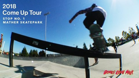 Transworld Skateboarding's 2018 Come Up Tour | Stop 1 | Mather Skatepark (Sacramento) | TransWorld SKATEboarding