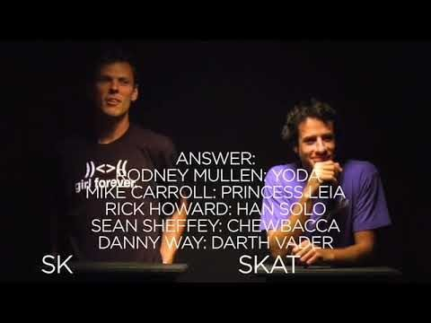 "TransWorld SKATEboarding's ""Skate Nerd"": Rick Howard vs. Mike Carroll  