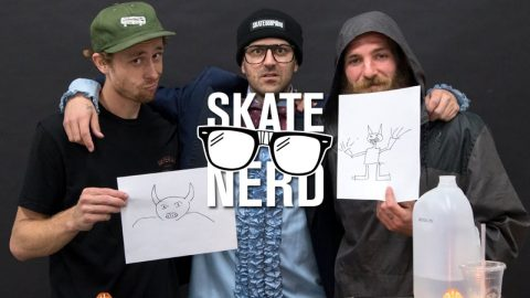 "TransWorld SKATEboarding's ""Skate Nerd"": Walker Ryan vs. Peter Raffin 