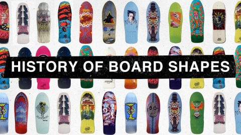 "TransWorld SKATEboarding's ""The History of Board Shapes"" Part 1 