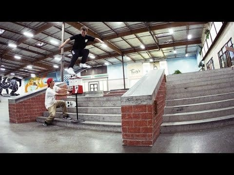 Trent & Taylor McClung - Bubblegum Pop - The Berrics