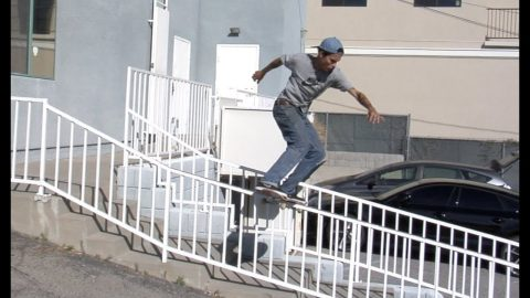 Trevor Colden fs Grind & fs Lip Raw Cut | E. Clavel