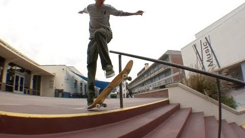 Trevor Colden fs Shuv bs Grind Raw Cut | E. Clavel