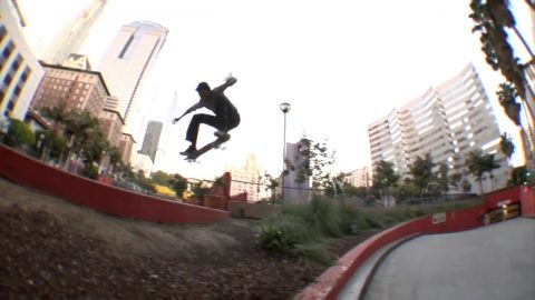 Trevor Colden Heel Flip LA Gap Raw Cut | E. Clavel