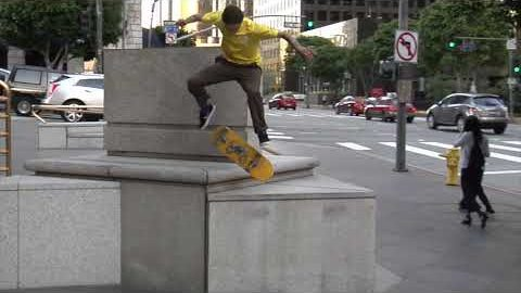 Trevor Colden Nose Manual Nollie Flip Raw Cut | E. Clavel