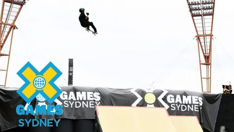 Trey Wood wins Skateboard Big Air bronze | X Games Sydney 2018 | X Games