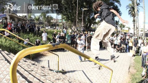 Trick for Cash na Escada do Américo | CemporcentoSKATE