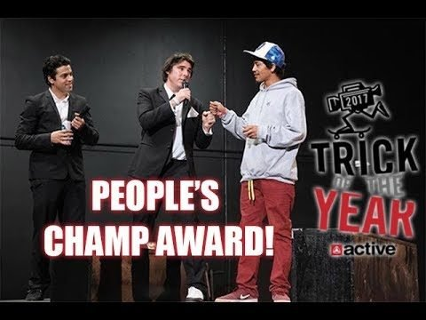 TRICK OF THE YEAR PEOPLES CHAMP AWARD!!! - Vinh Banh
