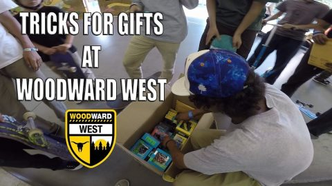TRICKS FOR GIFTS AT WOODWARD WEST!! - Vinh Banh