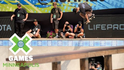 Tristan Rennie wins Men's Skateboard Park silver | X Games Minneapolis 2018 | X Games