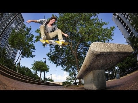 Tropical street skating in the caribbean color rico part 1 for Adrien harper watches
