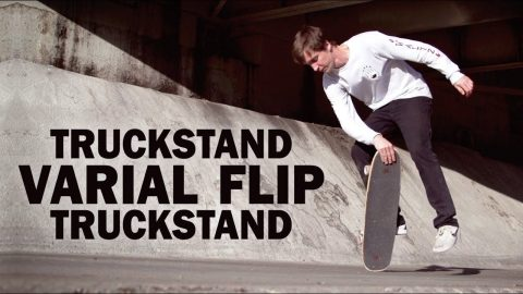 Truckstand Varial-Flip Truck: Mike Osterman || ShortSided - Brett Novak