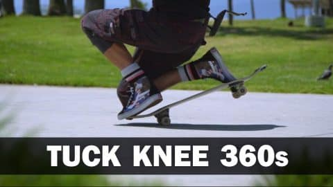 Tuck Knee 360s: Guenter Mokulys || ShortSided - Brett Novak
