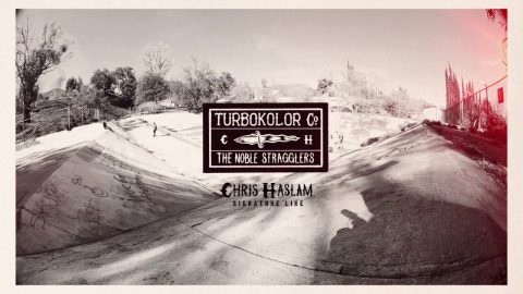 Turbokolor Co. - The Noble Stragglers. Chris Haslam signature line. - Turbokolor Co. Official Channel